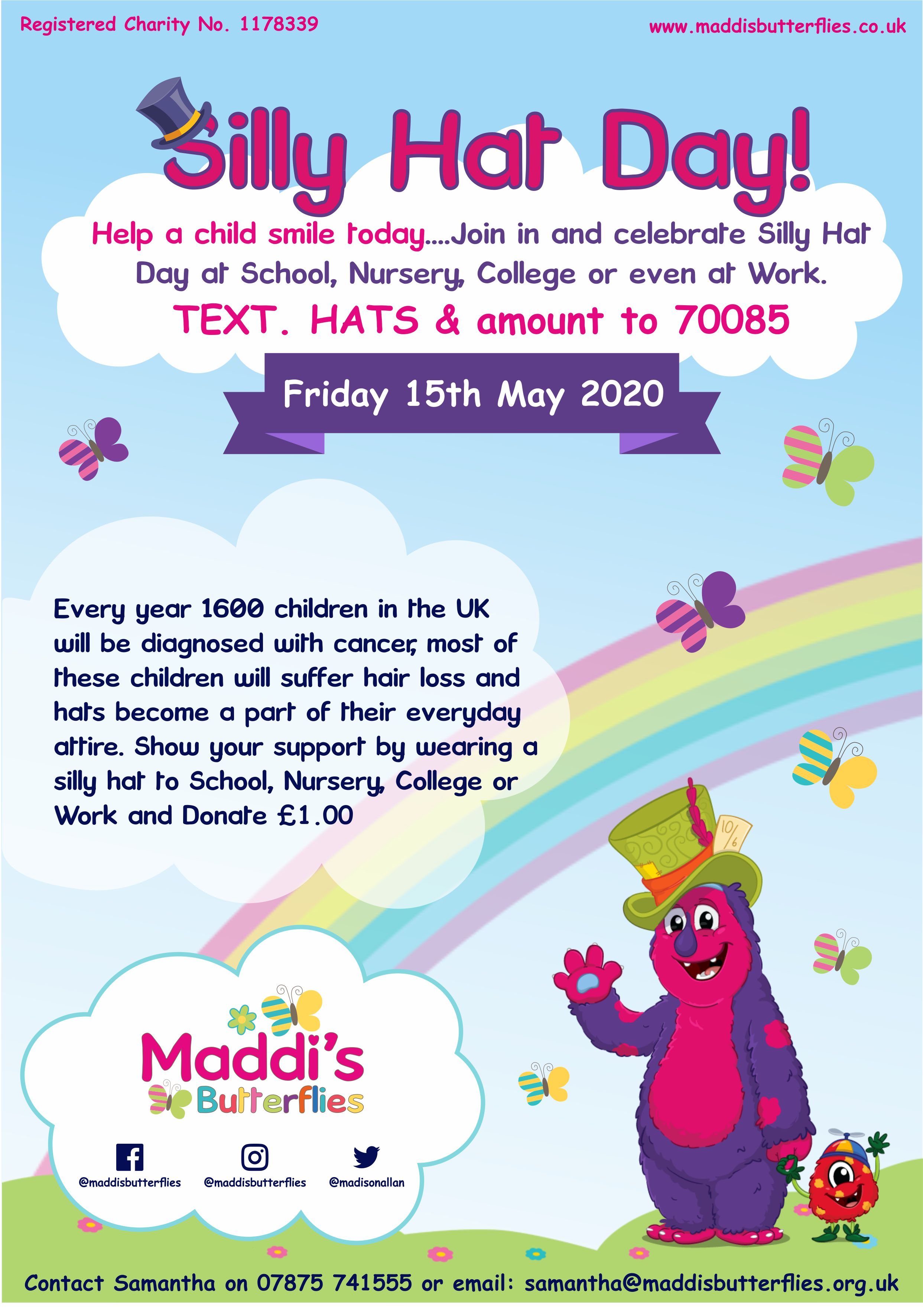 Maddies-Butterflies-Silly-Hat-Day-202-Advert